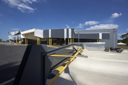 Morris Iemma Indoor Sports Center - McPhee Architects - Australia