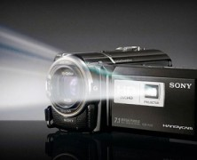 Handycam HD – Camcorder with Projector – Sony