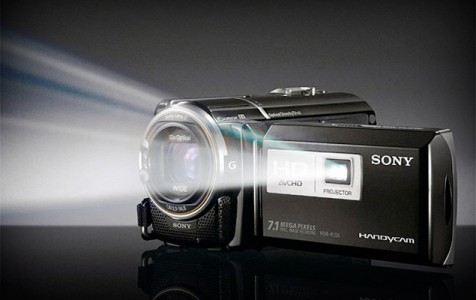 Sony HD - Camcorder with Projector