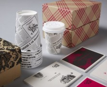 Packaging for Cafe Vue by Designworks