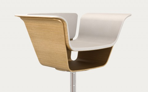 Bar stool S5 by Belyaev Design