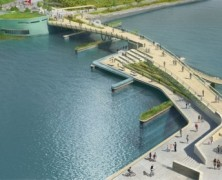Providence River Pedestrian and Cyclist Bridge Competition Winner – inFORM Studio – US