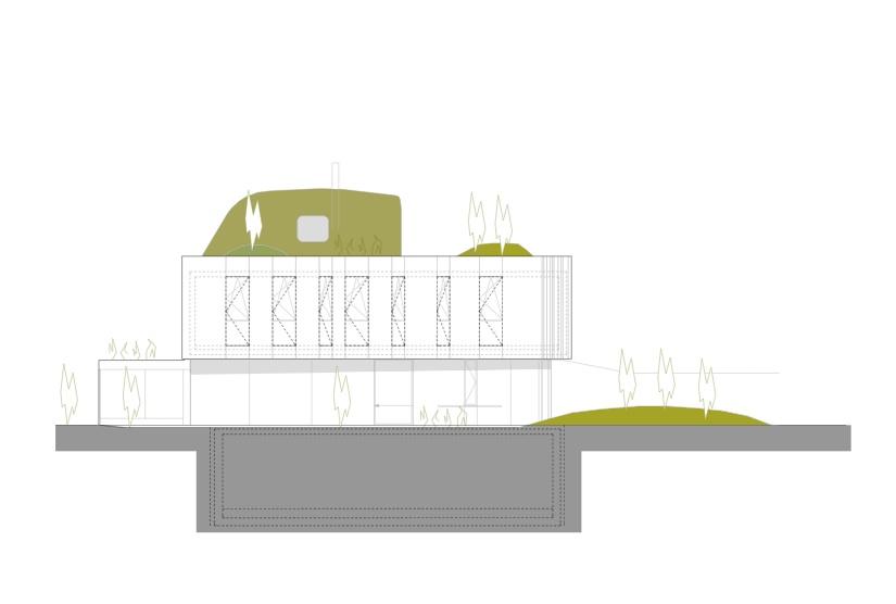 Wohnzimmer house caramel architekten austria for Architekten wohnzimmer