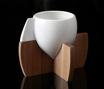Skase teacup set by Steve Watson