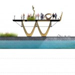 Providence River Pedestrian and Cyclist Bridge Competition Winner - inFORM Studio - US