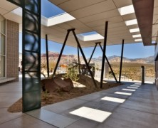 Red Rock Canyon Visitor Center – Line and Space – US