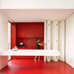 Kitchen With Folding Facade - dmvA Architecten