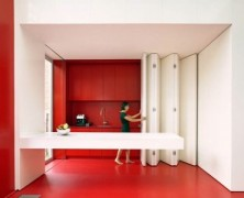 Kitchen With Folding Facade – dmvA Architecten
