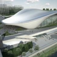 London Aquatics Centre 2012 –  Zaha Hadid – UK