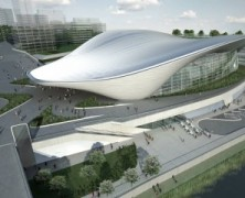 London Aquatics Centre 2012 –  Zaha Hadid – UK