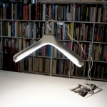 White flare hanger light - Toshihito Okura