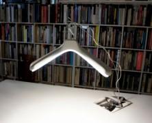 White flare hanger light – Toshihito Okura