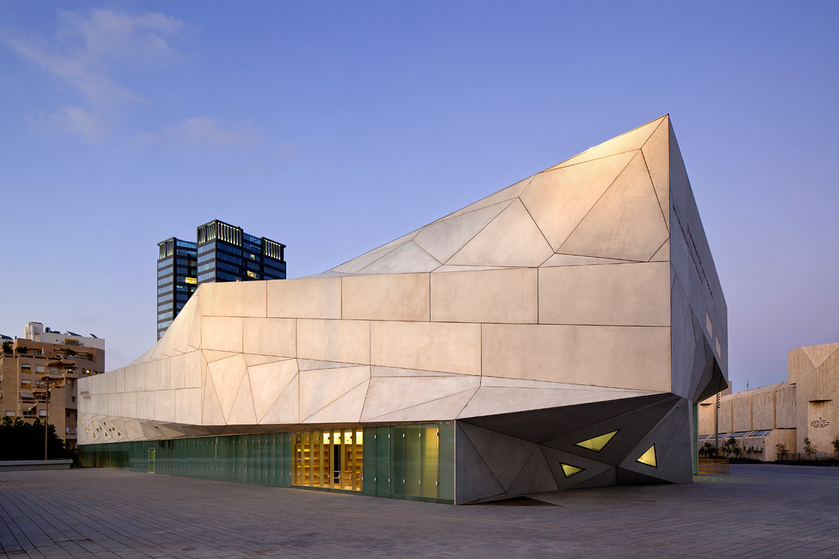 TEL AVIV MUSEUM OF ART  Preston Scott Cohen INC  Israel. Architecture