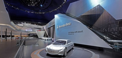 Mercedes-Benz at the Frankfurt Festival Hall - Kauffmann Theilig & Partner - Germany
