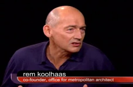 Charlie Rose with Architect Rem Koolhaas - The Evolving Nature Of Country Life
