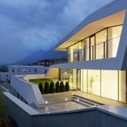 Giacomuzzi Commercial Building – monovolume architecture – Italy