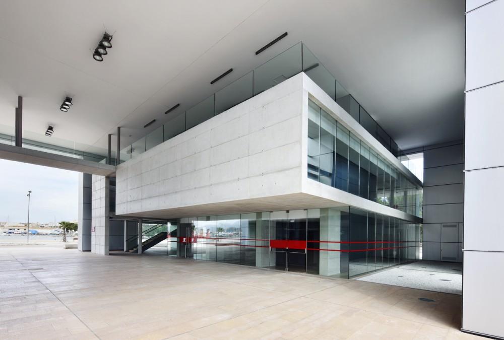 Alcudia marine station sct estudio de arquitectura - Estudio arquitectura mallorca ...