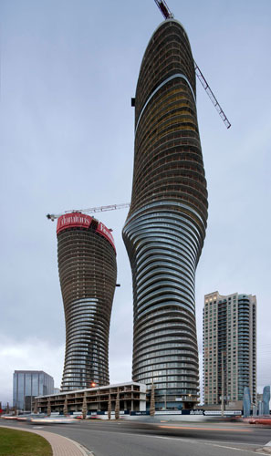 Absolute towers top sealed mad architects canada for Absolute towers