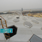 Shenzhen International Airport under construction - Massimiliano + Doriana Fuksa