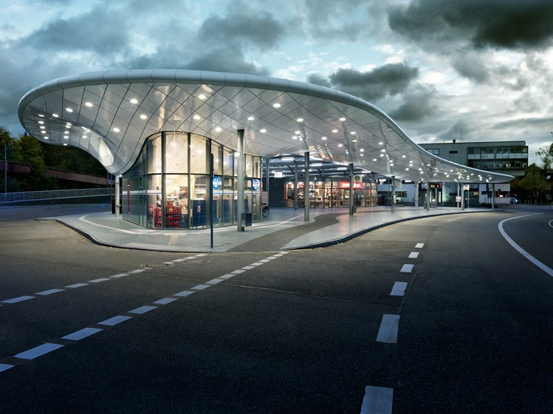 Bus Station Blunck Morgen Architekten Germany