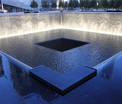 Opening 9 11 Memorial Michael Arad Peter Walker Partners