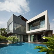 Travertine Dream House- Wallflower Architecture + Design– Singapore