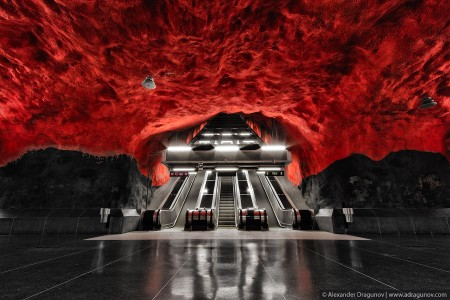 Stockholm Subway - Alexander Dragunov – Sweden