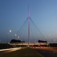 Hovenring – Circular Cycle Bridge – IPV Delft – The Netherland