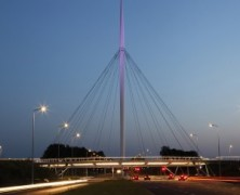 Hovenring – Circular Cycle Bridge – IPV Delft – The Netherland