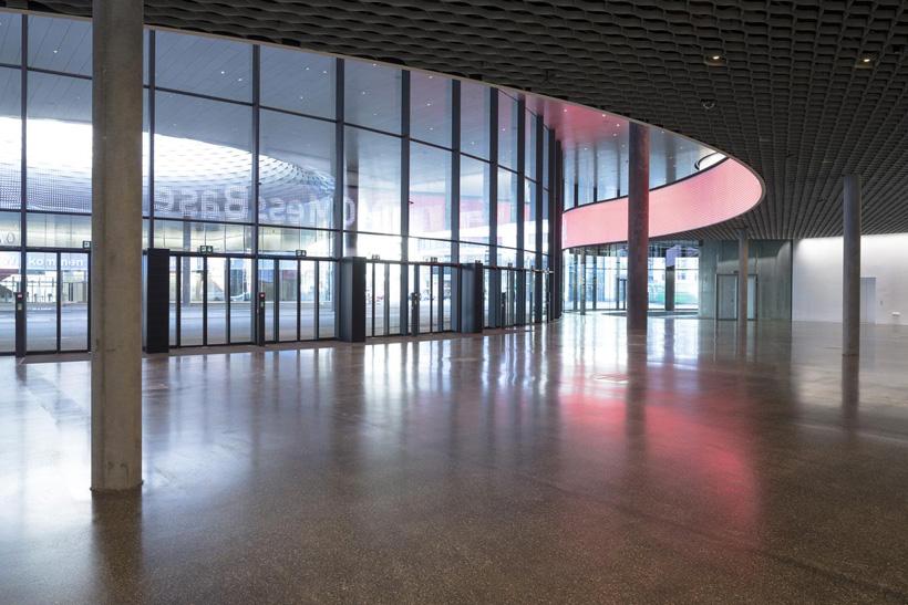 Messe basel new hall herzog amp de meuron switzerland simbiosis