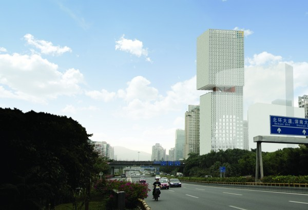OMA - Wins Skyscraper Competition - China
