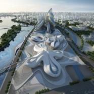 Changsha Meixihu International Culture Center – Zaha Hadid – China