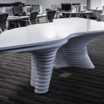 Office's Front Desk and Discussion Table – HWCD