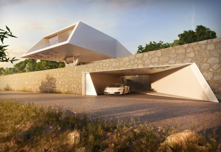 Villa F – HAJ, Hornung and Jacobi - Greece